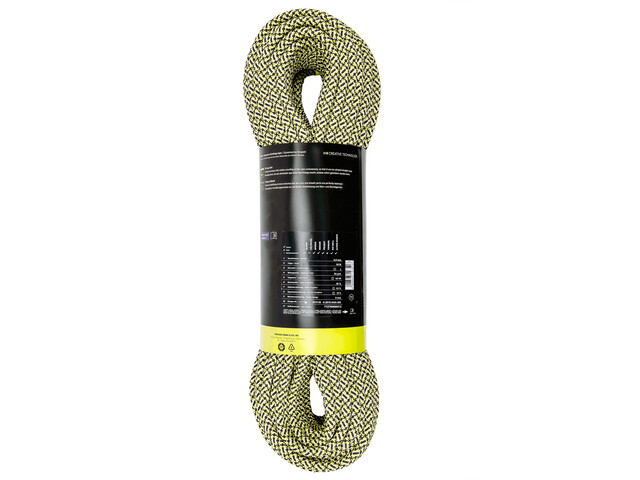 Edelrid SE Emperor Lina 9,8mm 40m, black-yellow